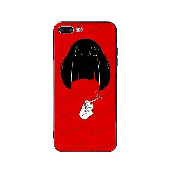 ddac0aa07b Amazon.com: Pulp Fiction Soft Silicone TPU Phone Case Cover Shell ...