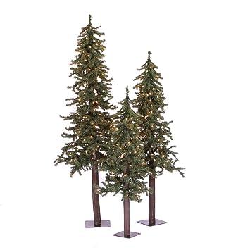 Image Unavailable - Amazon.com: Vickerman A805180 - Natural Alpine Christmas Trees, 2' 3