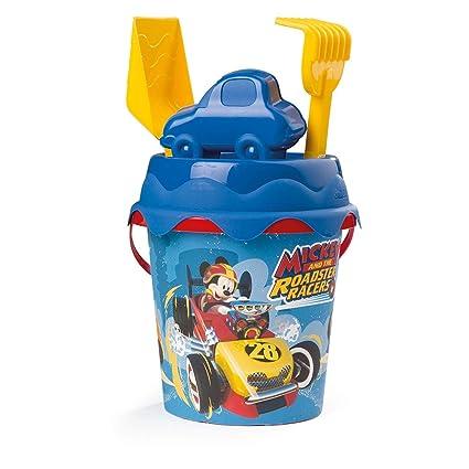 Amazon.com: Smoby - Cubo Mickey Mouse con un diámetro de 6.7 ...