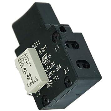 Zinc Products - Interruptor de Encendido y Apagado para cortacésped Bosch Rotak 32 36 37 40