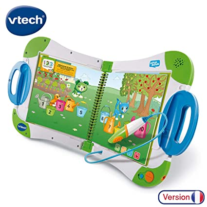 Vtech Magibook Starter Pack Vert Livre Interactif Enfant