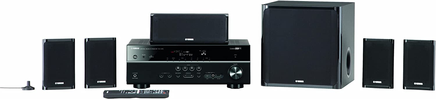 Yamaha YHT-599UBL 5.1-Channel USB Home Theater System