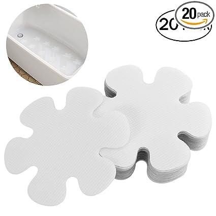 Bath Bathtub Shower Adhesive Kids Treads Non-slip Stickers Mat Applique For Safety