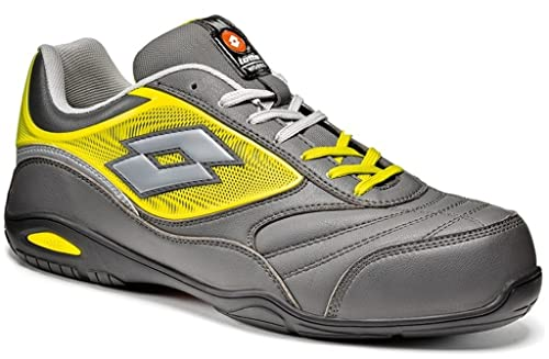 Calzado de seguridad Lotto Works ENERGY 700 S3 SRA HRO Gris Amarillo (38)