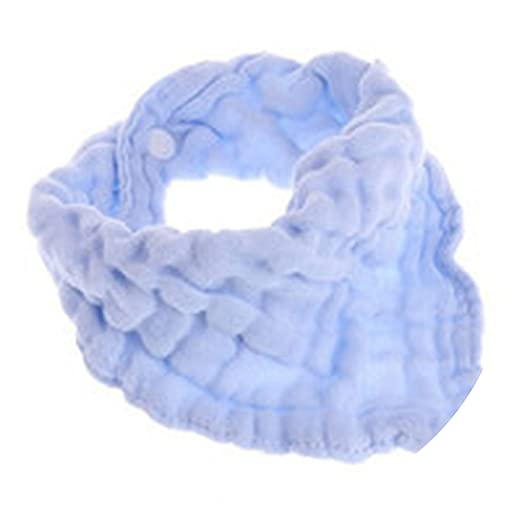 1pc Blend Gauze Bibs Burp Cloths Saliva Towel Feeding Triangle Bandana Neonatal Towels Baby Simple Design Soft Pure Cotton Accessories Back To Search Resultsmother & Kids