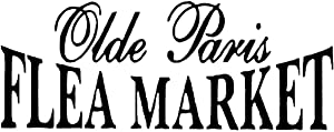 Olde Paris FLEA Market Vinyl Decal Flea Market Decal Sticker Paris Decal French Country Decal Decor Shabby Chic Decal