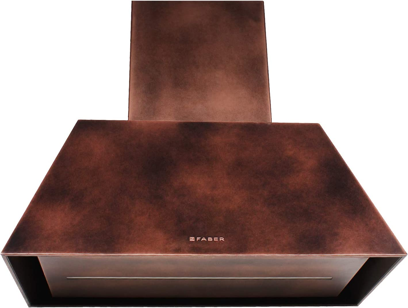 Faber - Campana extractora de pared con acabado de cobre de 70 cm: Amazon.es: Hogar