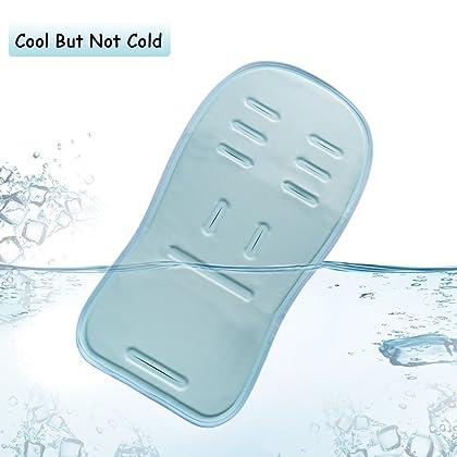Dahey Self Cooling Gel Stroller Seat LinerBaby Cooler CushionCooling