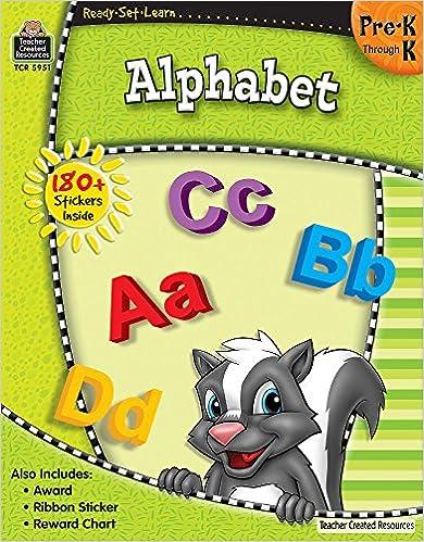 Alphabet PreK-K Ready-Set-Learn