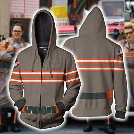 Aosida Ghostbusters Disfraz Cool Movie Sudadera con Capucha ...