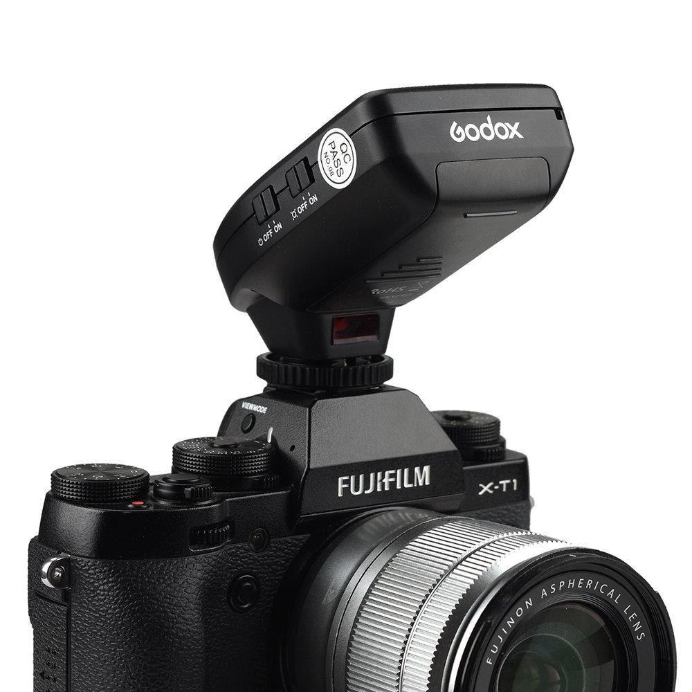 Godox xpro-f TTL , 2.4/G 1//8000s HSS TTL Convert-Manuel funci/ón TCM transmisor de Flash Sobre Gran Pantalla LCD para Fuji Fujifilm
