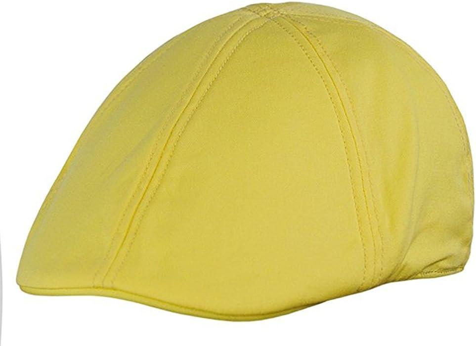 f9bea17d38cca EmejiaSales Duck Mesh Summer Gatsby cotton Cap Mens Ivy Hat Golf Driving  Sun Flat Cabbie Newsboy