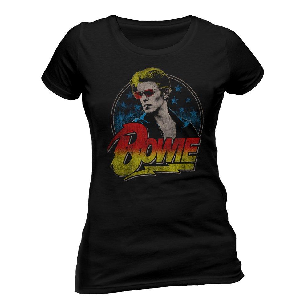 Disfraz Oficial de David Bowie Fitted Camiseta Smoking Ziggy ...