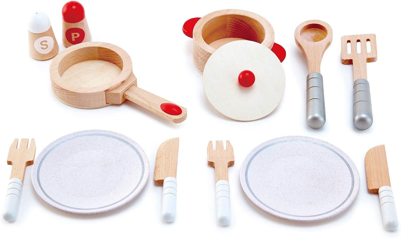 Kinder Kochgeschirr - Hape Starterset Gourmentküche