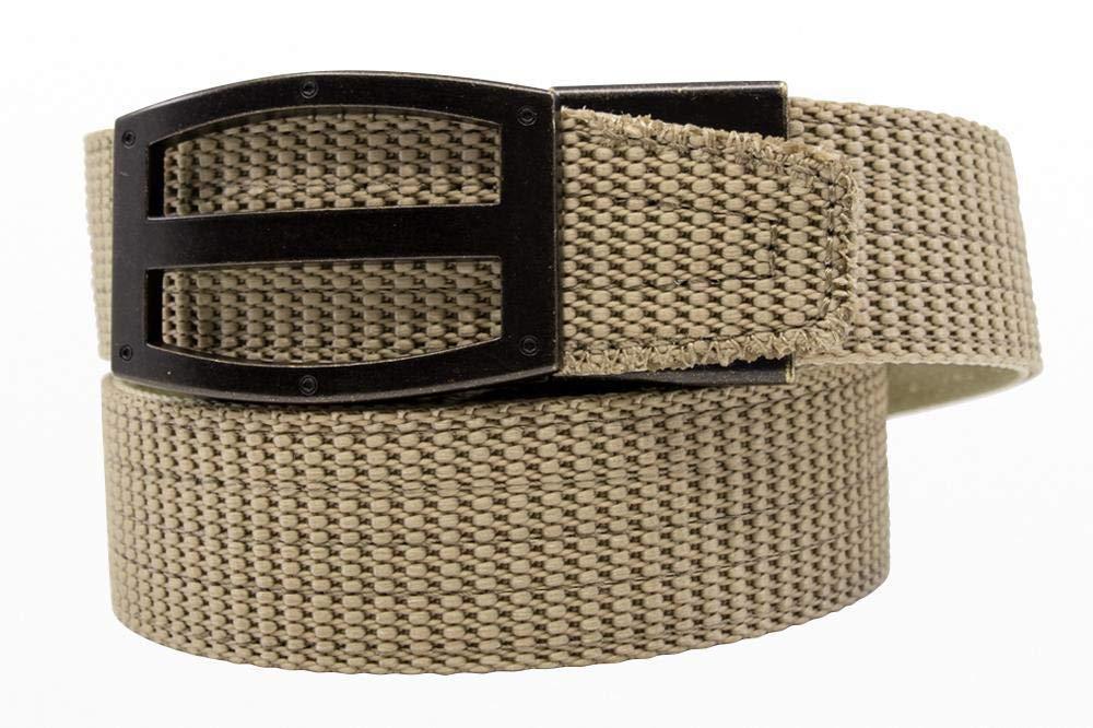 Nexbelt Tactical TD Tan Belt Flat Buckle Adjustable Ratcheting System