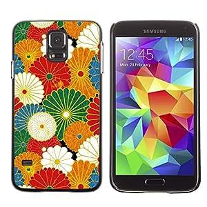 Be Good Phone Accessory // Dura Cáscara cubierta Protectora Caso Carcasa Funda de Protección para Samsung Galaxy S5 SM-G900 // Rustic Vintage Wallpaper Summer