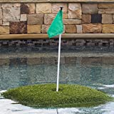 Retail Turf Solutions Floating Golf Green 3X3 ft ''Ace'' Floating Golf Green