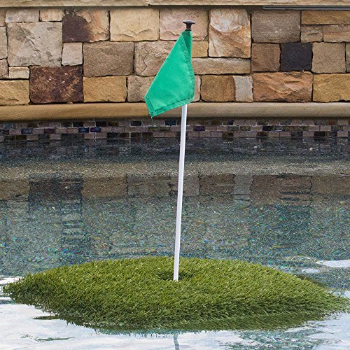 Retail Turf Solutions Floating Golf Green 3X3 ft ''Ace'' Floating Golf Green by Retail Turf Solutions (Image #1)