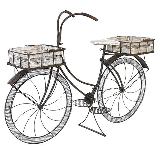 GZYQYIHJB Bicicleta Retro Soporte De Flores Flotador JardíN JardíN ...