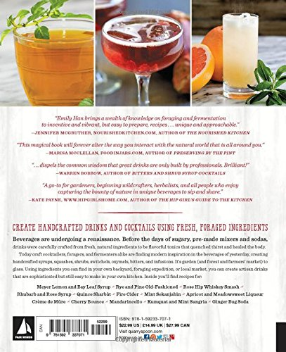 Wild Drinks & Cocktails: Handcrafted Squashes, Shrubs, Switchels, Tonics, and Infusions to Mix at Home 2 FAIR WINDS PRESS