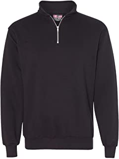 product image for Bayside - USA-Made Quarter-Zip Pullover Sweatshirt - 920