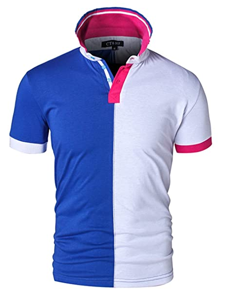 Ct Hf Men S Two Color Layer Stylus Polo Shirt At Amazon Men S