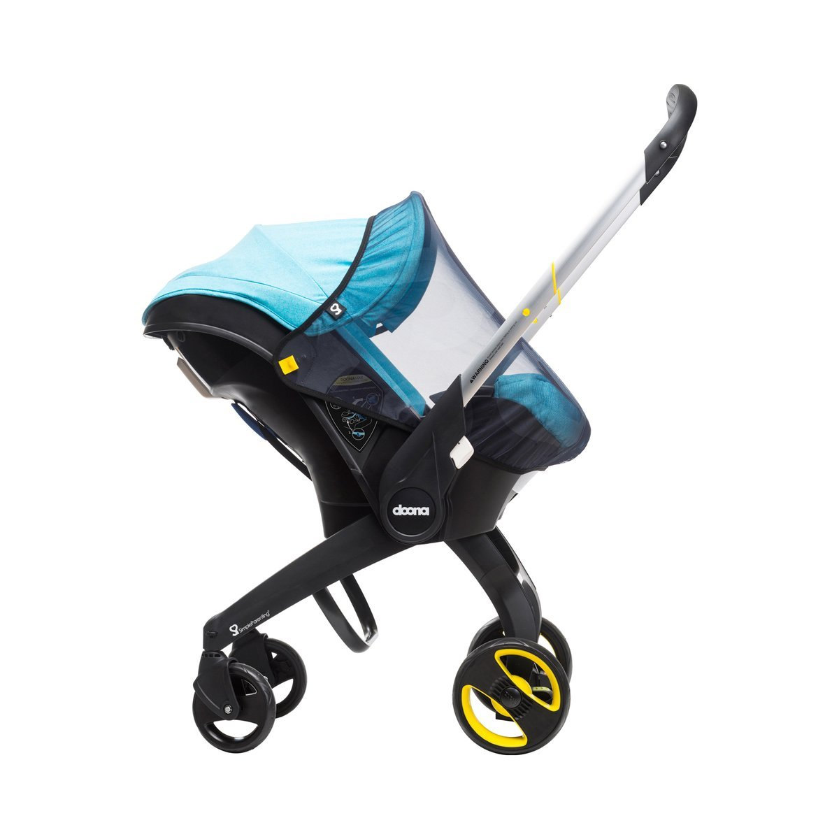 Simple Parenting - Mosquitera para Silla de Auto Doona negro: Amazon.es: Bebé