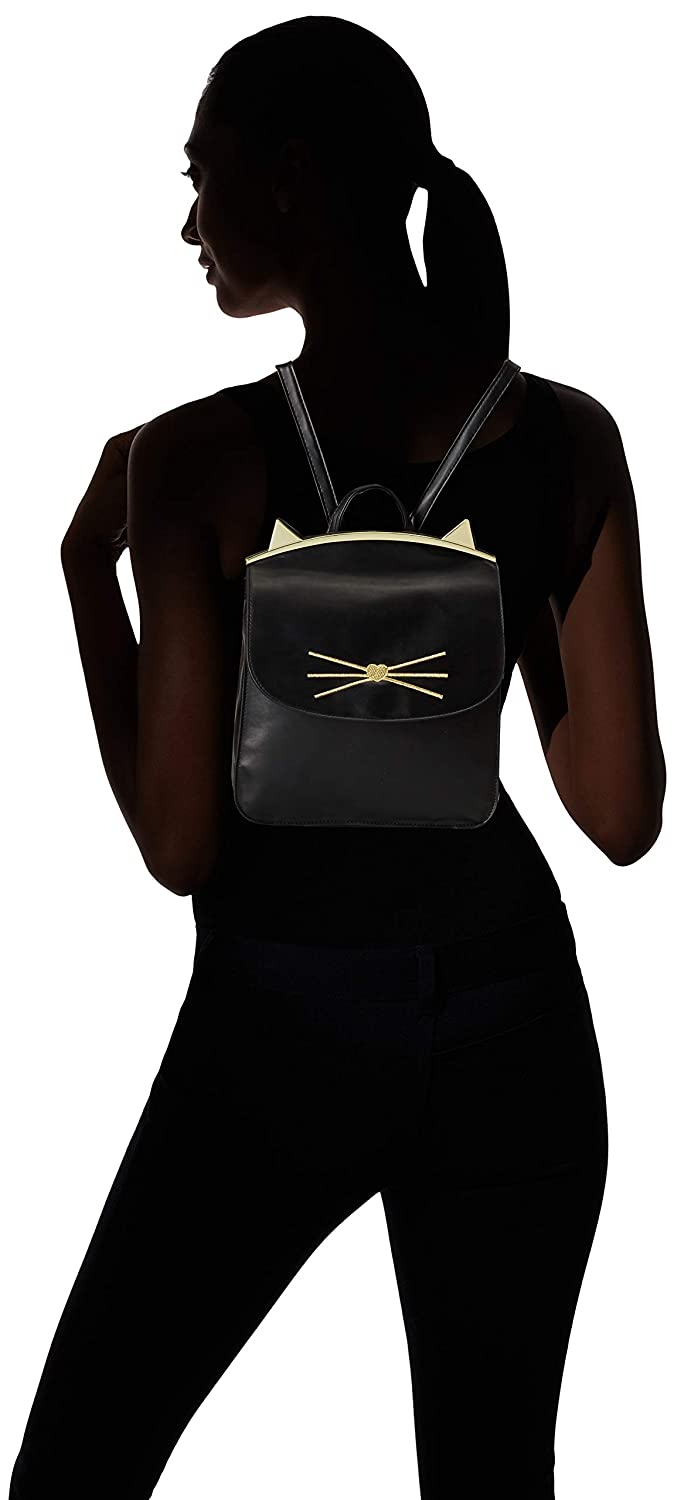 430775f92 Amazon.com: T-Shirt & Jeans Back Pack with Cat Ears Frame, black: Clothing