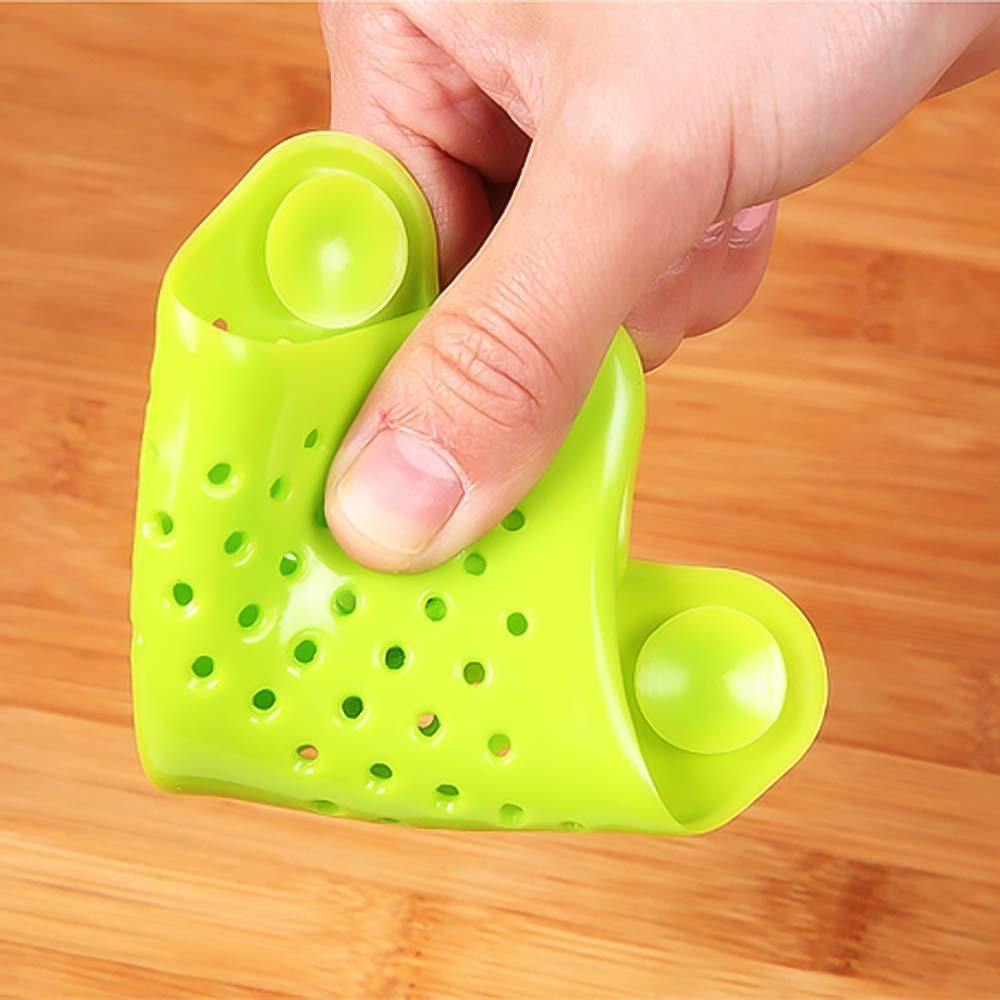 Accessori da Cucina Filtro in Silicone per lavello Doccia 4 Pezzi EudoER Cattura Capelli per Vasca da Bagno