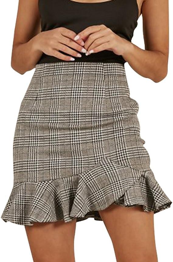 comparable femme jupe femme carreau fcf91