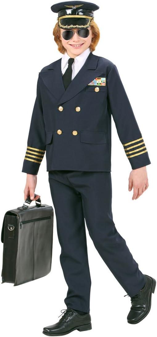 Traje Capitán Piloto - 153 - 158 cm, 11 - 13 años | Disfraz ...