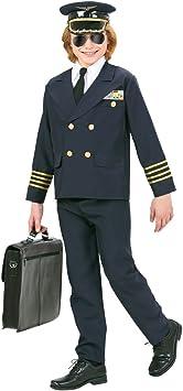 Traje Capitán Piloto - 153 - 158 cm, 11 - 13 años | Disfraz Infantil ...