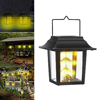 CTlite - Lámpara Solar para Colgar al Aire Libre, Estilo Vintage ...