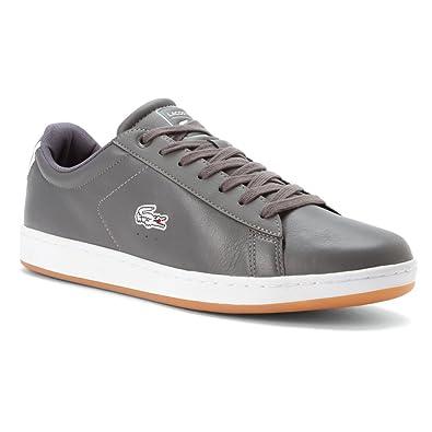 506b2660e Lacoste Men s Carnaby EVO REI Dk Grey Dk Grey ...