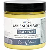 CHALK PAINT (R) by Annie Sloan - English Yellow (Project Pot - 4oz) – Decorative paint for furniture, cabinets, floors, home decor and accessories – Water-based – Non-toxic – Matte finish