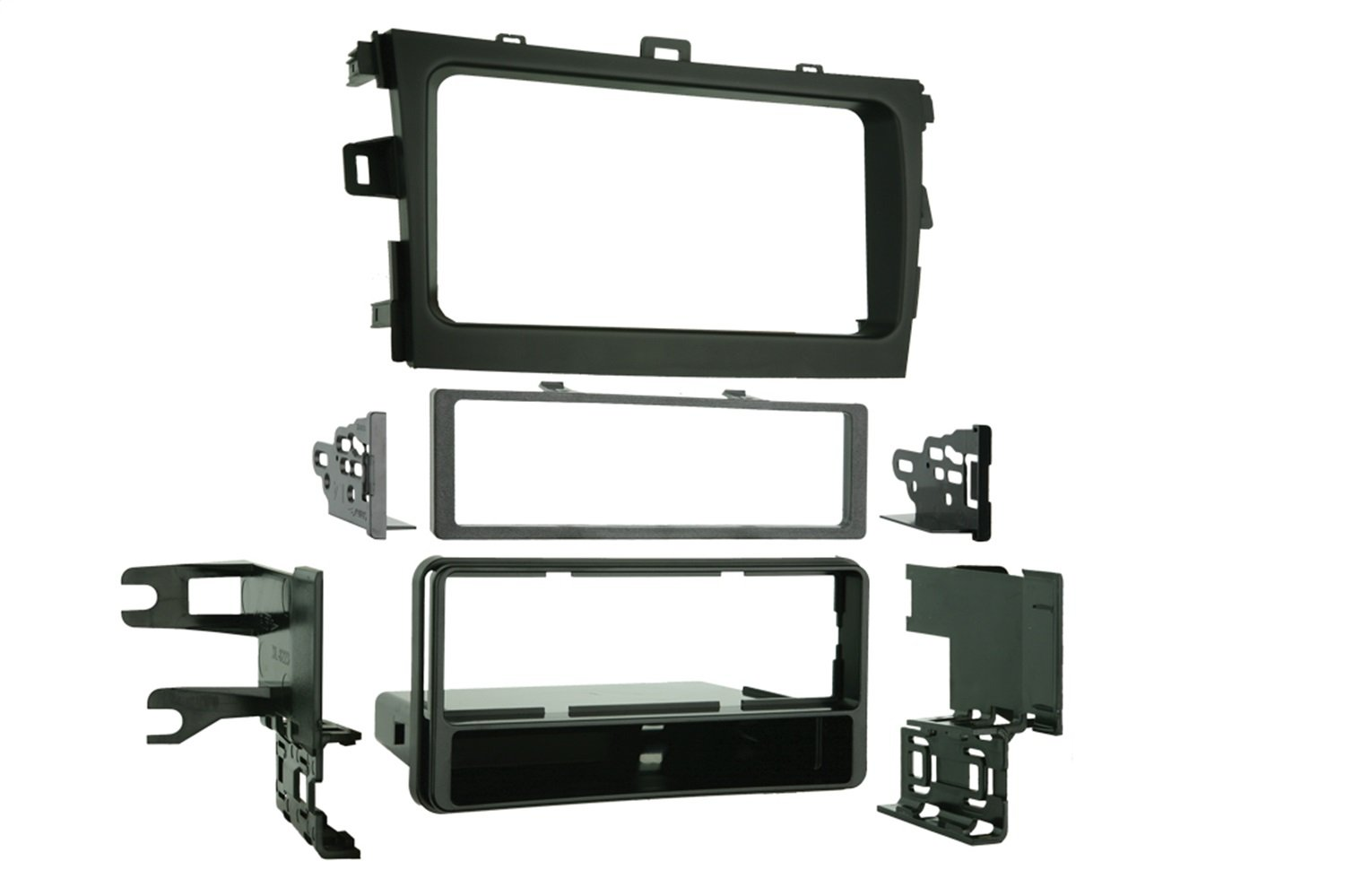 Metra 99-8223 Single DIN Installation Dash Kit for 2009 Toyota Corolla (Black)