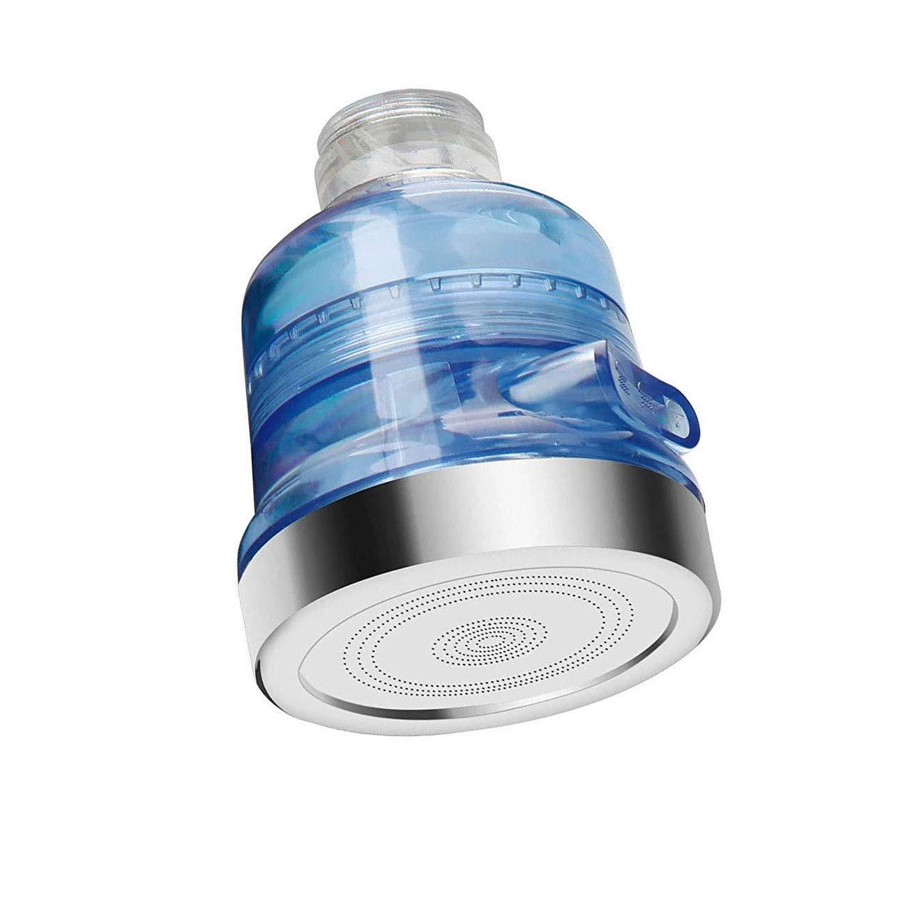 Ajuste ABS Grifo de Cabezal de pulverizaci/ón Grifo para Evitar Salpicaduras de Cabeza para Cocina ba/ño Xrten Grifo de Agua Giratorio de 360 /°