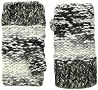 Screamer Chellene Fleece Lined Gloves, Charcoal/White/Grey, One Size