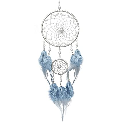 01b45e2d6a Small Traditional Dreamcatcher Mobile Handmade Dreamcatchers 2 Rings Native  American Dream Catchers Feathers Decorations Home Wall