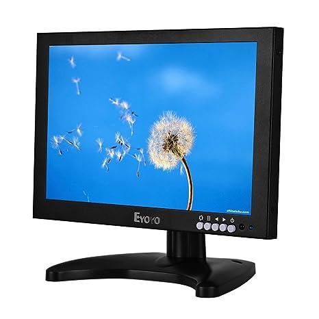Eyoyo 10 Pulgadas IPS LED Full HD Monitor con HDMI/BNC/VGA/USB