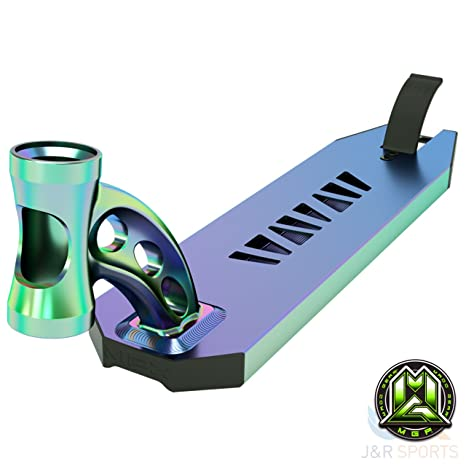 MGP VX8 Extreme Scooter Deck Only - Neo Chrome: Amazon.es ...