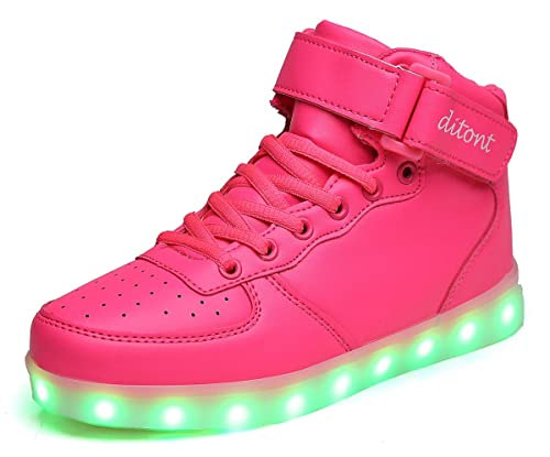 Amazon.com  ditont LED Light Up Shoes Flashing Sneakers for Kids Boys Girls  Womens Mens  Shoes 5588a9c5d0