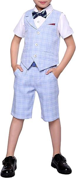 Amazon.com: Conjunto de chaleco y pantalones cortos para ...