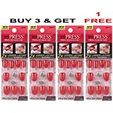 """**FREE OFFER** KISS imPRESS """"CALL MY AGENT"""" by Broadway Press-On Manicure Nails (BUY 3 GET 1 FREE)"""