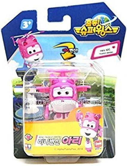 Korean toy SUPER WINGS ARI MINI TRANSFORMER Korean animation SG/_B00R0UO9AA/_US