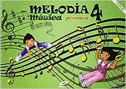 Book Música 4ºprimaria. Melodía. Para Galicia