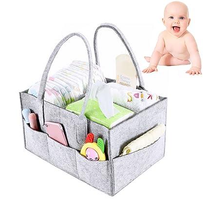 Organizador de pañales para bebé, bolsa de viaje para el coche, bolsa de viaje