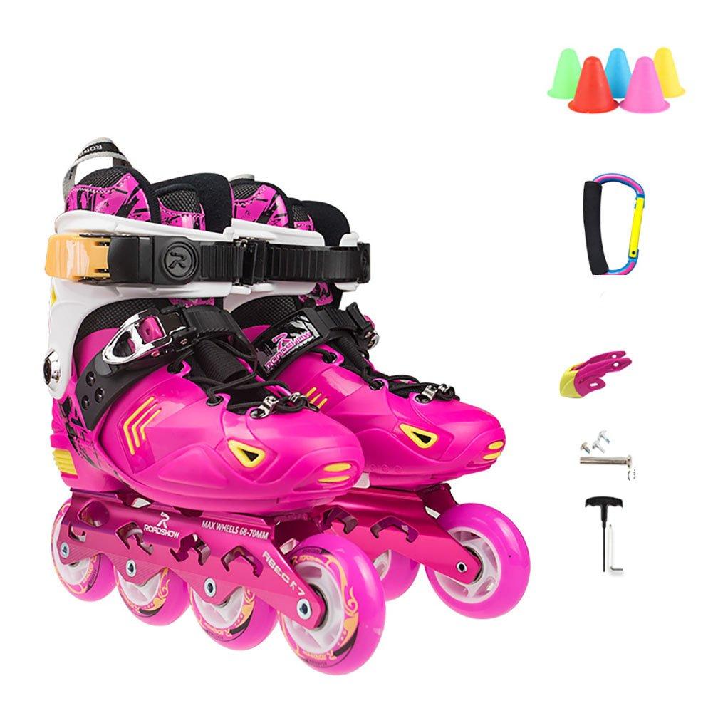 kele Roller skates,Children's suit,Outdoor skating for beginners for boys girls and women- outdoor-indoor-C S adjustable (31-34) code