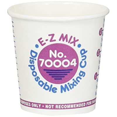 E-Z Mix EZX70004 Disposable Paper Mixing Cup (s - 1/4 Pint Cups 400): Automotive [5Bkhe2001269]