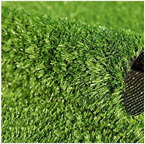 YNGJUEN 15ミリメートルパイル高人工芝、屋外ガーデン犬ペット合成芝生、カーペットドアマットゴムサポート排水穴 (Size : 2x2m)